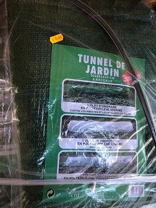 Tunnel de jardin 3en1