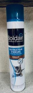 Boldair destructeur d'odeurs animales 500ML