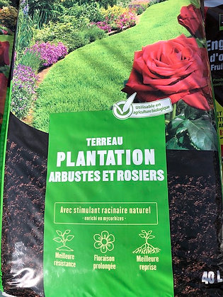 Terreau plantation