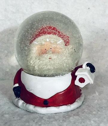 Boule à neige père Noël