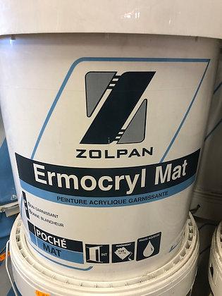 Peinture mate acrylique Ermocryl Mat