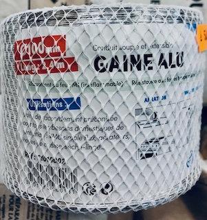 Gaine aluminium diam 100 2,4m