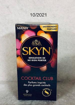 SKYN COCKTAIL CLUB 9 PRÉSERVATIFS