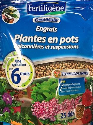 ENGRAIS PLANTES EN POTS, BALCONNIÈRES x25 dés
