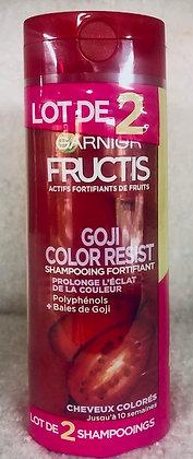 Lot de 2 Shampooing Fortifiant Color Resist - Fructis -  Garnier