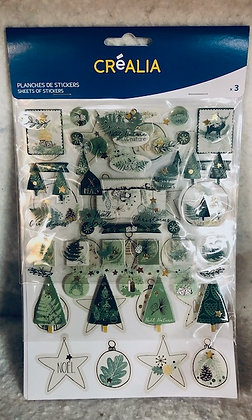 Décorations à coller Noël