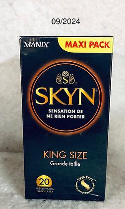 Skyn king size préservatifs