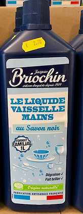 Liquide vaisselle mains au savon noir 1L