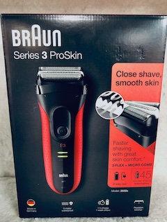 Braun Series 3 ProSkin 3030s Rasoir Électrique Homme Barbe