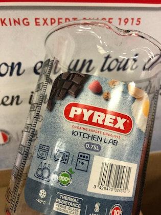 Pyrex - Kitchen Lab - Verre Doseur 0,75 L