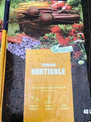 Terreau horticole sac 40L
