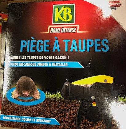 KB Home Defense piège à taupes