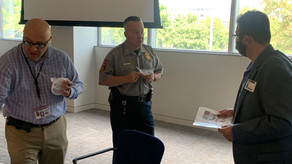 Sharing Ashurah (Noah's Pudding) with Fairfax County Police Department