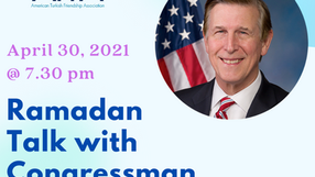 Ramadan Talk with Cong. Don Beyer