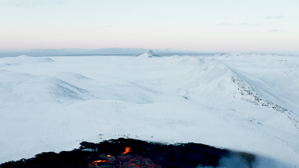 Tale of two volcanos