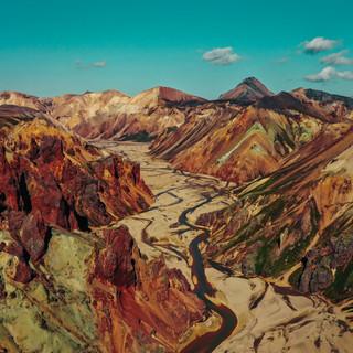 Jokulgil canyon