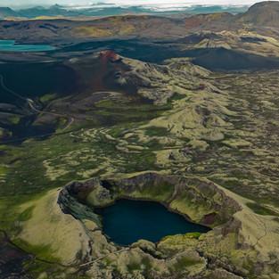 Vatnagígur Crater
