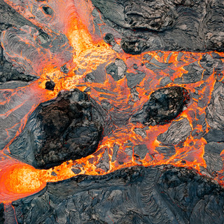 Lava river