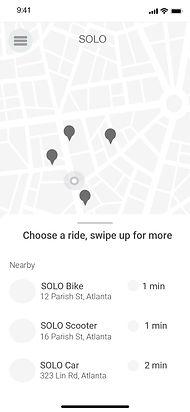 Copy of SOLO_Transportation App_Wirefram
