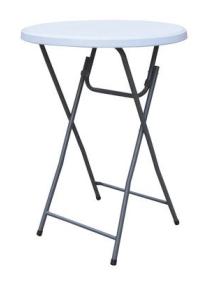 Table haute pliante