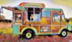 中型キッチンカー|キッチンカー専門の誠矢製作所のイラストキッチンカー移動販売車製作