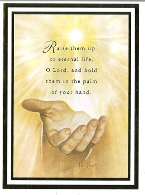 In the Palm of Your Hand Small Mass Card