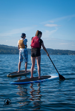 Young Paddleboarders, Pacifica Brentwood