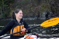 Smiling Kayaker