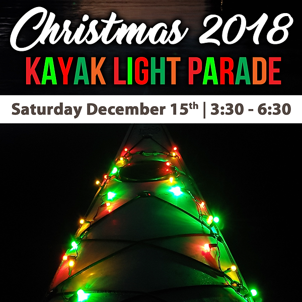 2018 Christmas Kayak Light Parade SOCIAL