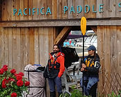 Pacifica Paddle's Guides with logo and g