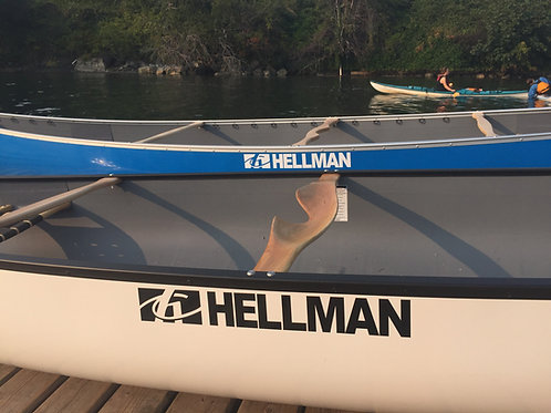 Slocan Canoe by Hellman