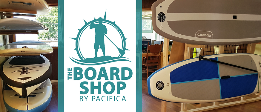 Paddleboard shop, Cascadia SUPs,