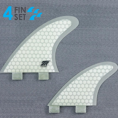 True Ames 4 Fin Set