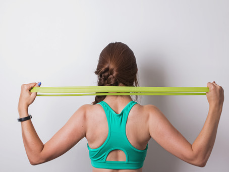 Resistance Band Stretches for People Who Sit All Day