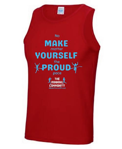 Men's Tech Running Vest - Make Yourself Proud