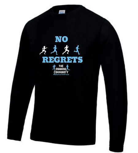 Men's Tech Long Sleeve Tops - No Regrets