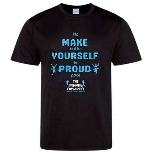 Men's Tech Running T - Make Yourself Proud