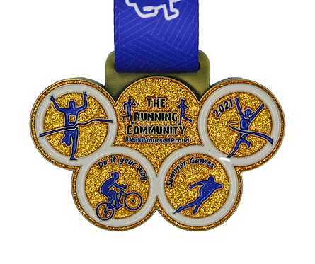 The Running Community Summer Games Challenge | 01.07.2021 - 31.08.2021