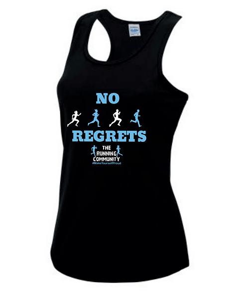 Women's Tech Running Vest - No Regrets