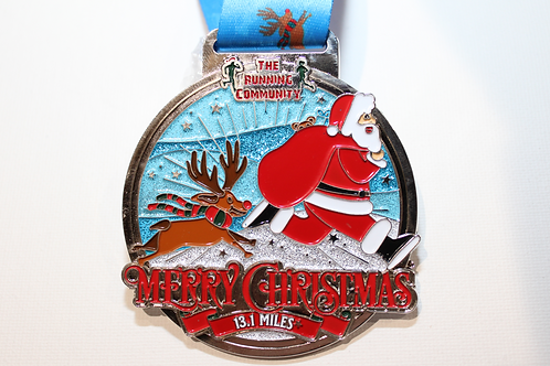 Merry Christmas Virtual Half Marathon Challenge   01.12.2020 - 31.12.2020