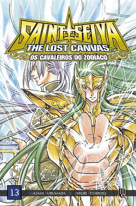 Cavaleiros do Zodíaco The Lost Canvas - Volume 13