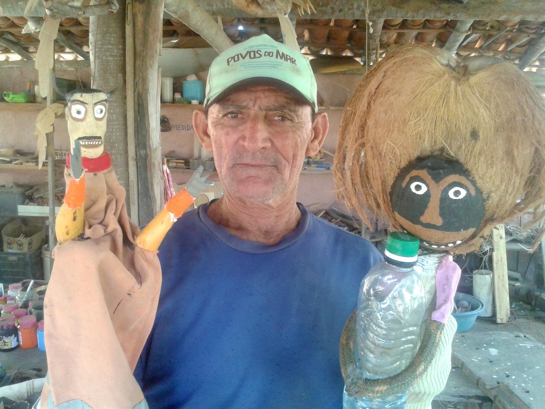 Artesao, arte tradicional, Cumbe
