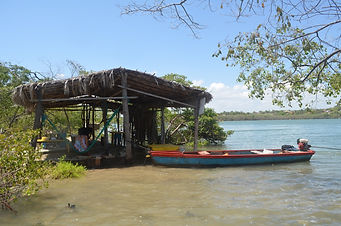 Barraca na Ilha do Caldeleiro_Cumbe