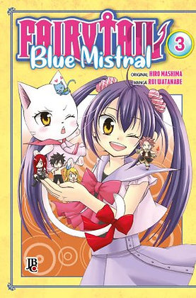 Fairy Tail Blue Mistral - Volume 3