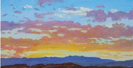 Frank Huff | Bright Sunset