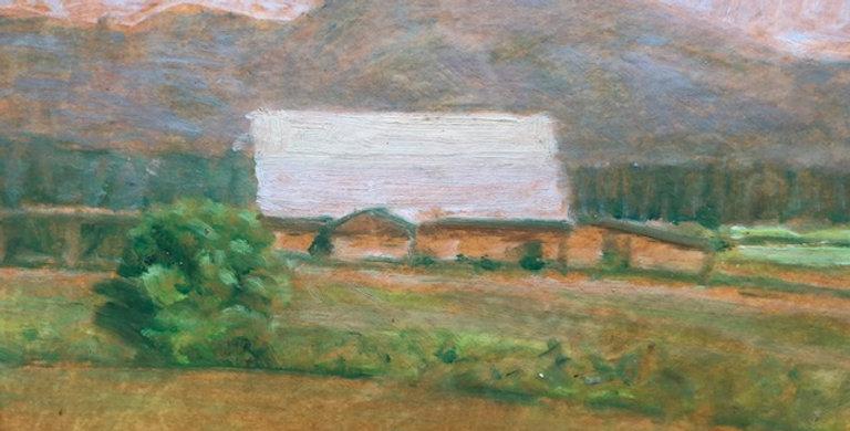 LeConte Stewart | Davis County Barn