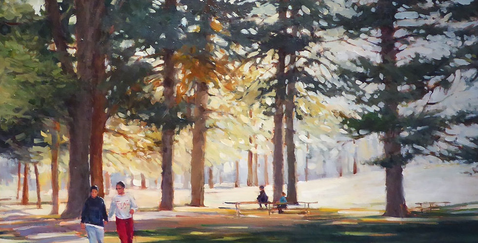 Phyllis Horne | A Walk in Liberty Park