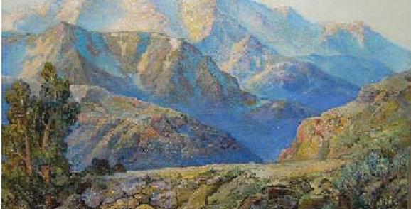 Roger Bushman | Mount Moran after LeConte Stewart