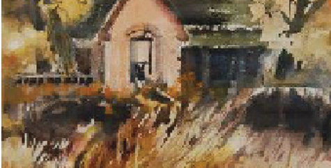Barbara Johnson | Old House in Trees