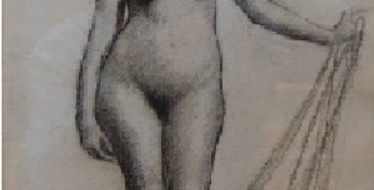 Clyde Cornick | Standing Female Nude